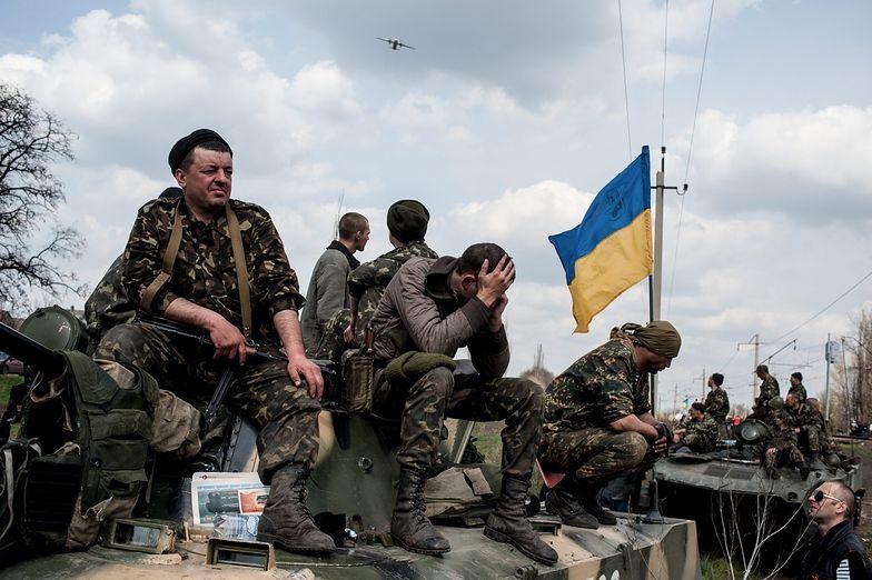 Wojna na Ukrainie. W obwodzie ługańskim separatyści okrążyli siły rządowe