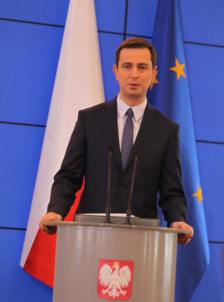 Na zdjęciu Władysław Kosiniak-Kamysz, minister pracy