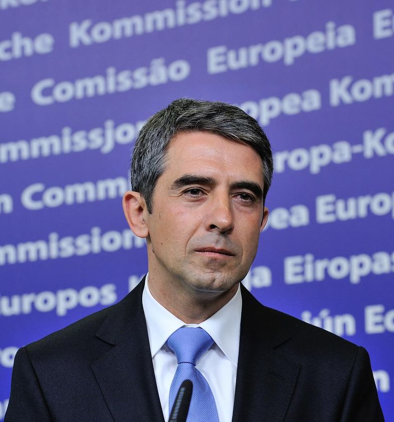 Prezydent Bułgarii Rosen Plewnelijew