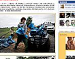 300 internautów prowadziło największą relację z powodzi