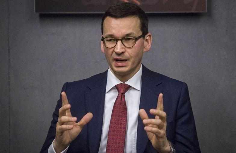 Premier Morawiecki może być zadowolony z wyników gospodarki.