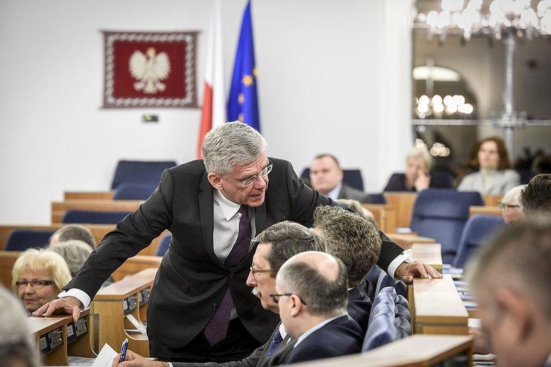 Senat przyjął projekt ustawy bez wymaganego kworum.