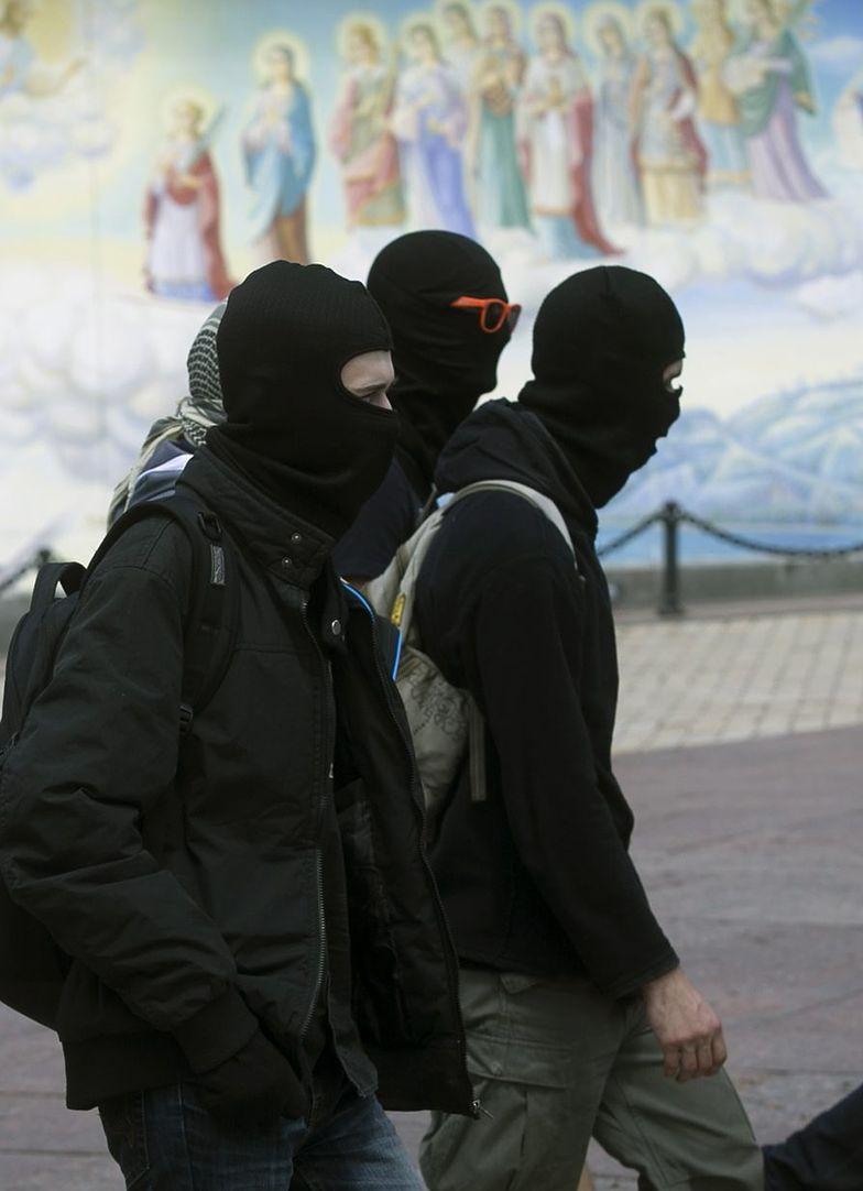 Prorosyjscy protestańci w Kijowie