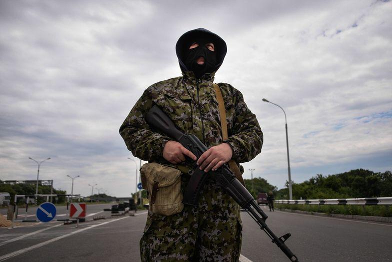 Separatysta na wschodzie Ukrainy