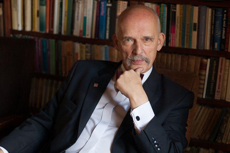 Janusz Korwin-Mikke nie musi prostować wypowiedzi o Holokauście