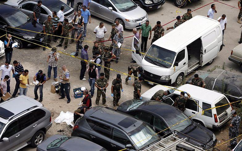 Liban: Zabici i ranni po zamachu w Bejrucie