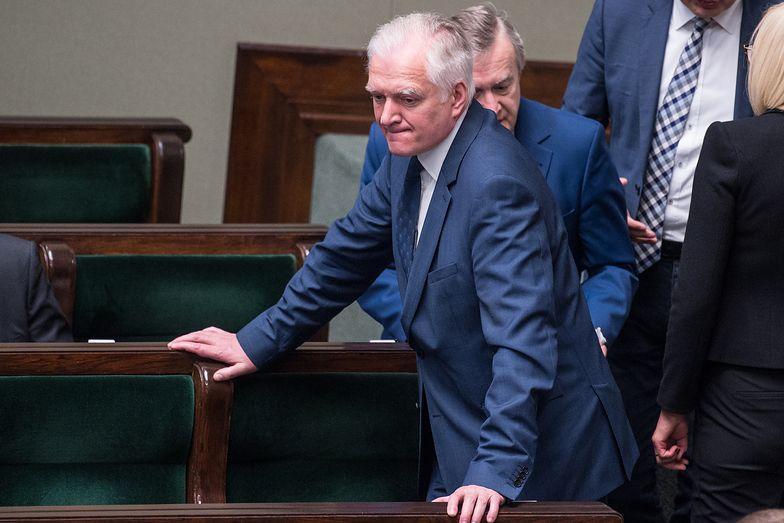 - Jarosław Gowin nie wziął udziału w głosowaniu. - Dla mnie to nie była właściwa decyzja - ocenił.