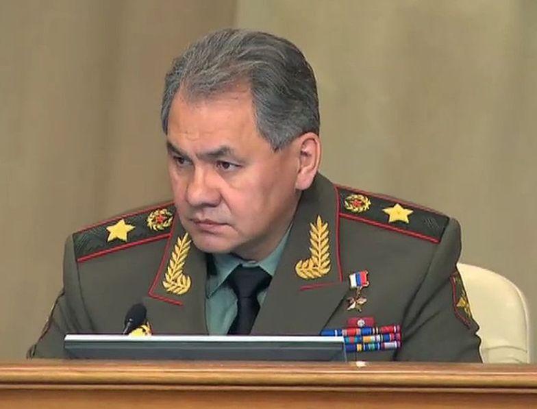 Siergiej Szojgu, minister obrony Rosji