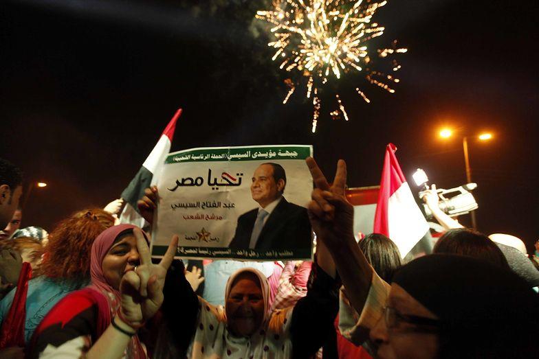 Sisi zdobył 96,91 proc. głosów w wyborach prezydenckich