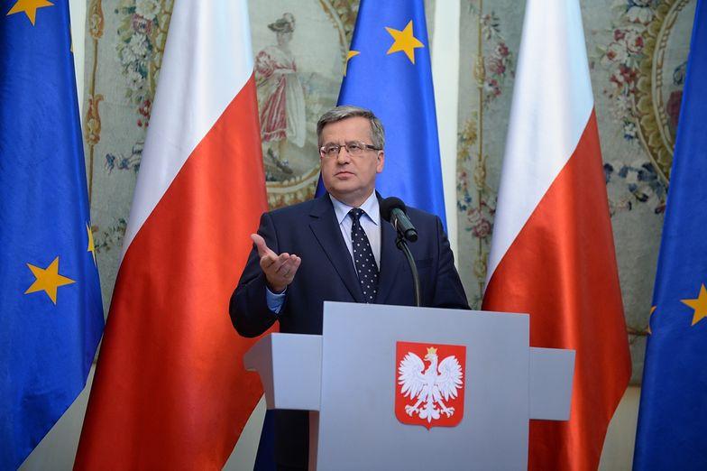 Bronisław Komorowski: Nowy skład PKW musi zostać szybko wybrany