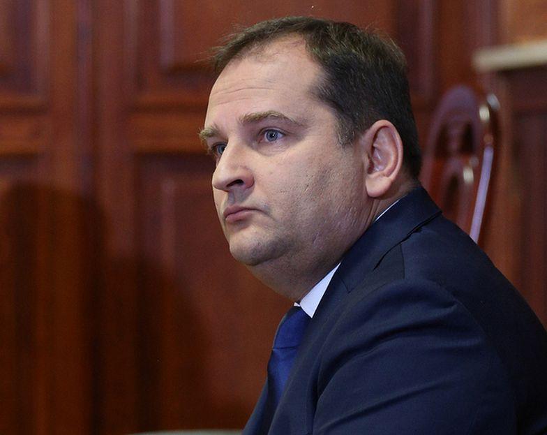Tomasz Arabski zeznaje przed komisją Amber Gold.