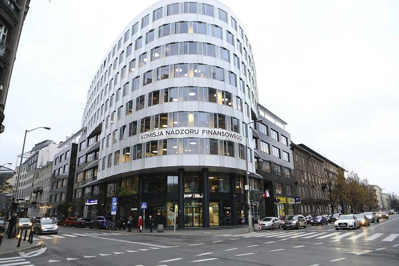 Obecna siedziba KNF przy ul. Pięknej w Warszawie.