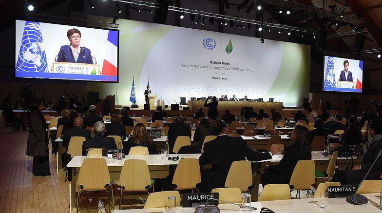 Premier Szydło przemawia podczas COP21