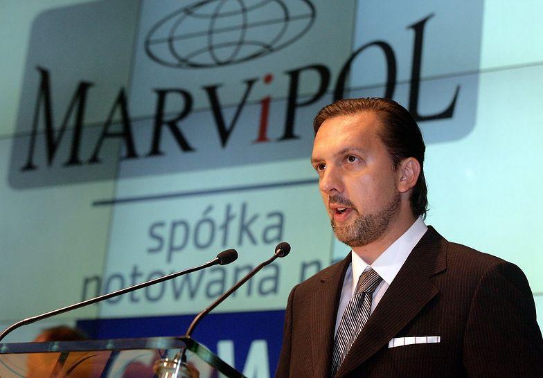 Mariusz Książek, prezes Marvipolu