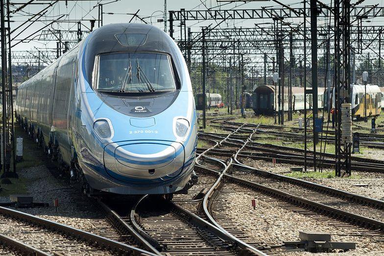 Pendolino w Polsce. W Żmigrodzie trwają testy pociągów
