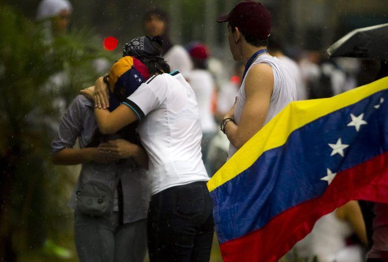Protesty w Wenezueli. Setki tysięcy ludzi na ulicach stolicy
