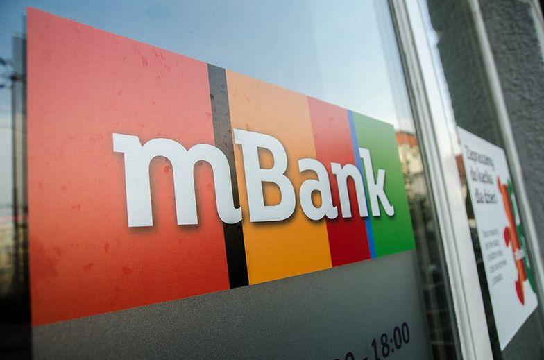 Akcje mBank idą w górę. Akcjonariuszy cieszy kłótnia w koalicji