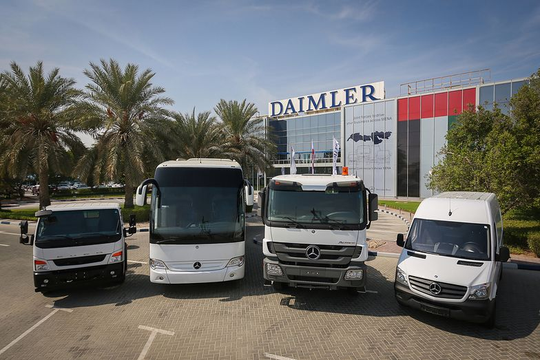 """Daimler """"wsypie"""" innych producentów?"""