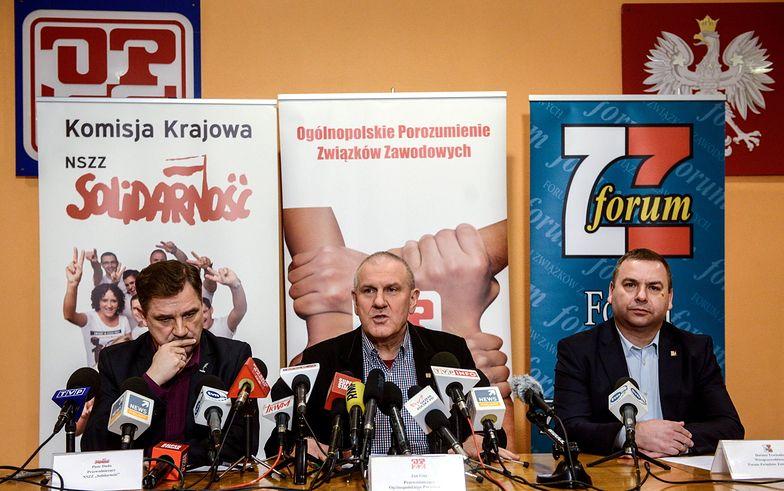 Piotr Duda, Jan Guz i Dariusz Trzcionka.