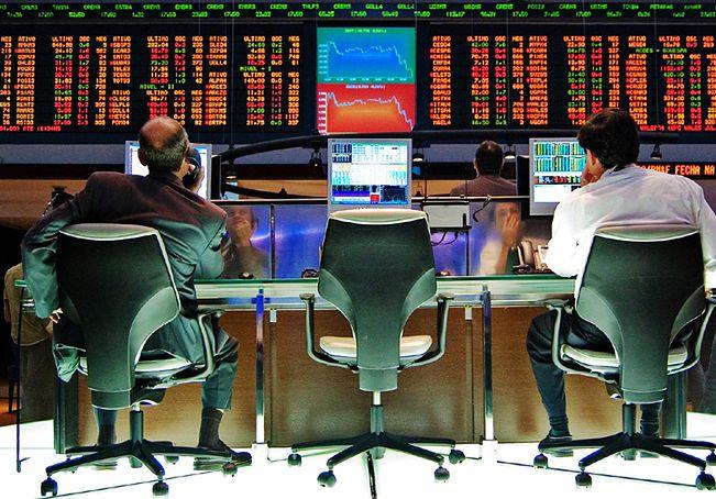 Giełdowi gracze odwracają się od ryzykowanych inwestycji.
