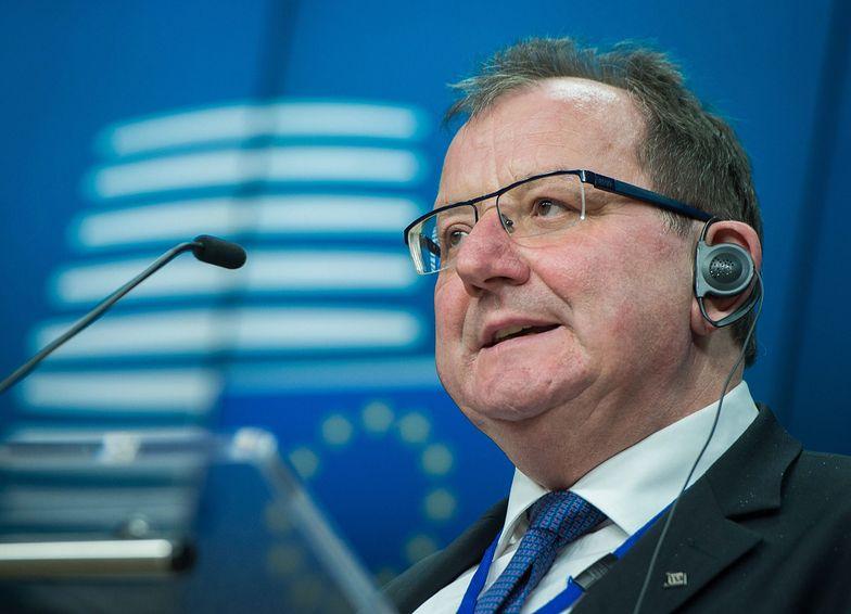Phil Hogan, unijny komisarz ds. rolnictwa.