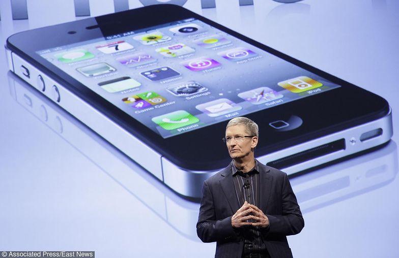 Szef Apple rezygnuje z 75 mln dolarów dywidendy