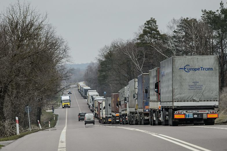 Wojna transportowa z Rosją. Tak postępowała eskalacja konfliktu o przewozy samochodami ciężarowymi