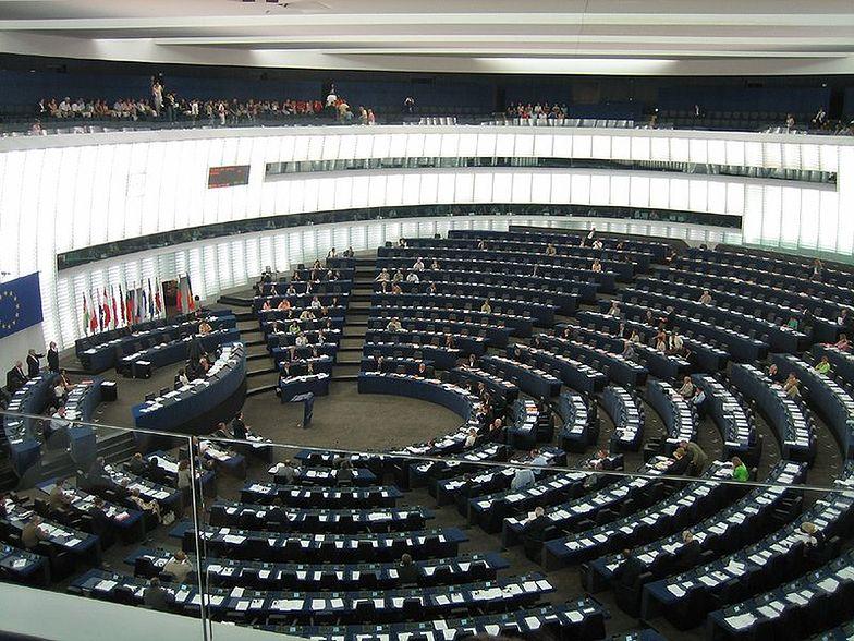 Sala obrad plenarnych PE w Strasburgu</br>