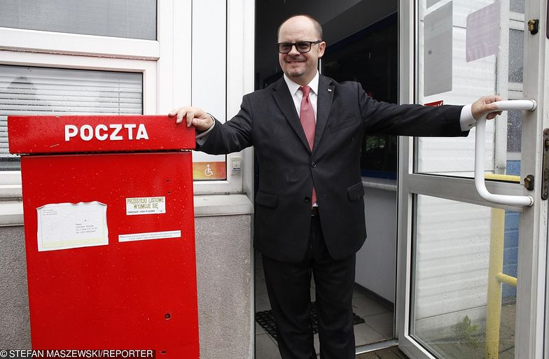 Prezes Poczty Polskiej Przemysław Sypniewski