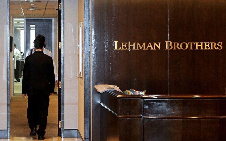 Upadek Lehman Brothers stał się symbolicznym początkiem wielkiego kryzysu.