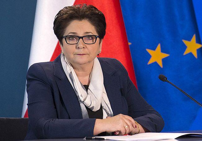 Teresa Piotrowska szefowa MSW <br>