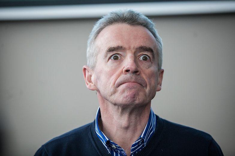 Michael O'Leary dotychczas zwykle nie przebierał w słowach, odnosząc się do konkurencji.