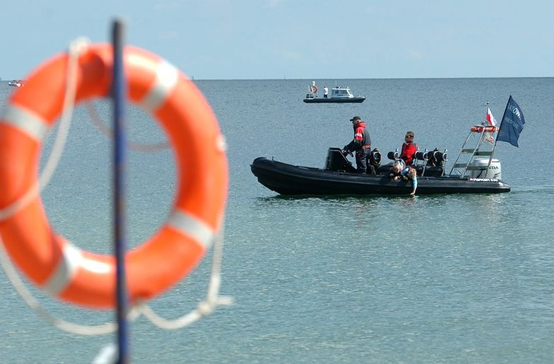 Na Bałtyku zatonął holowany niemiecki statek