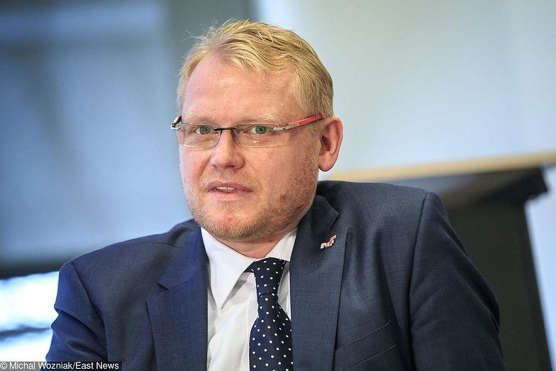 Wiceminister finansów Paweł Gruza zasłużył się uszczelnianiem systemu podatkowego.