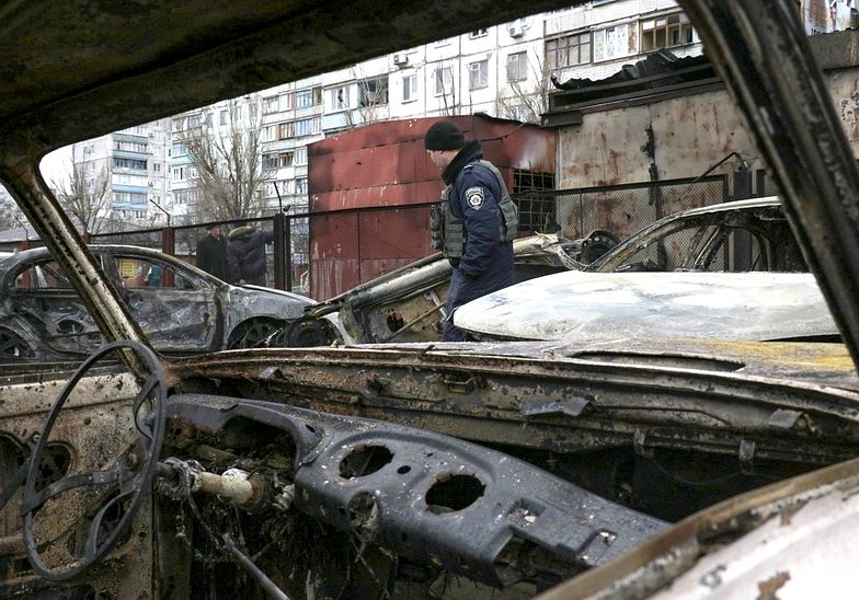 Wojna na Ukrainie. Trwają walki w Doniecku