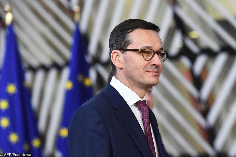 Mateusz Morawiecki na pierwszym szczycie RE mówił, że na razie temat przyjęcia euro nie istnieje