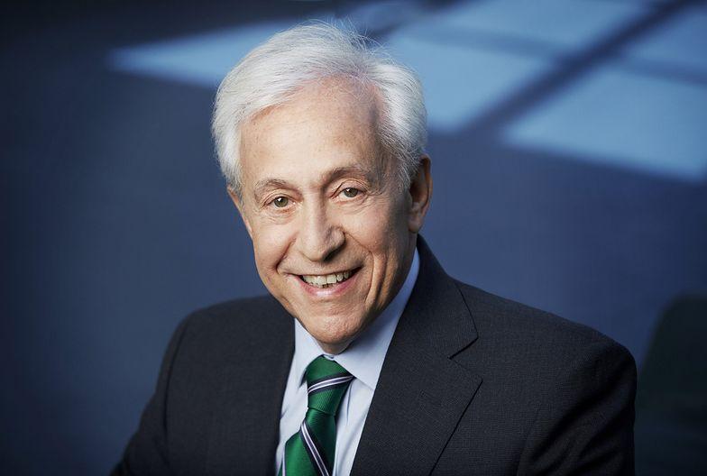 Józef Wancer, prezes banku BGŻ