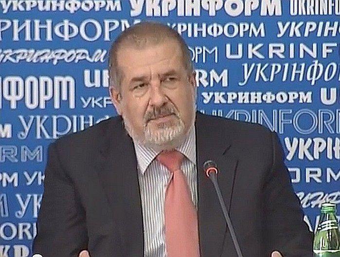 Refat Czubarow, jeden z liderów Tatarów krymskich