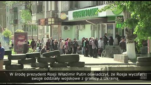 Prorosyjscy aktywiści są gotowi na referendum w Słowiańsku