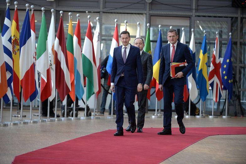 Bruksela, 23.02.2018. Mateusz Morawiecki podczas nieformalnego szczytu unijnych przywódców.