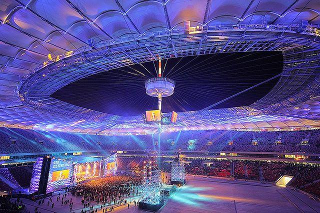 12 tys. informacji o stadionach. W miesiąc