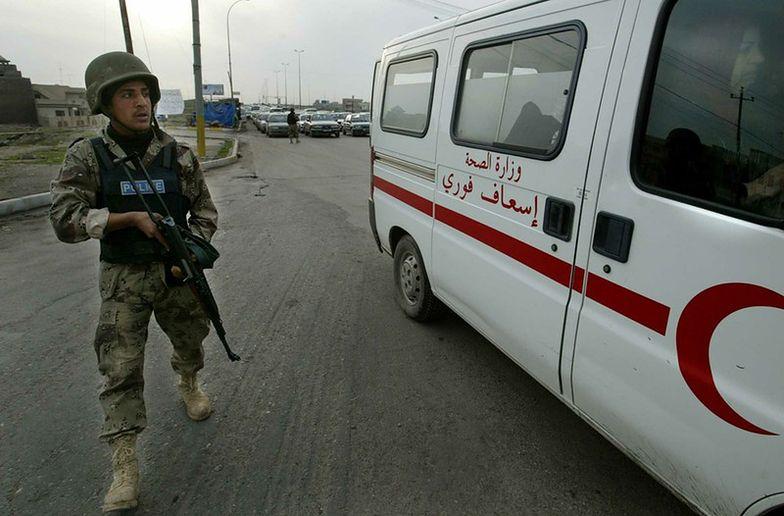 Zamach w Iraku pod kościołem