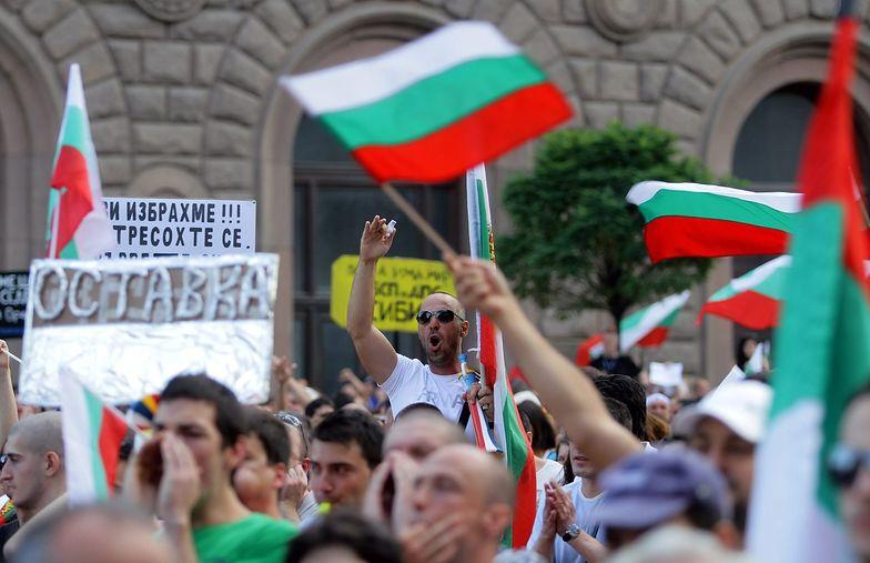 Antyrządowy protest sparaliżował centrum stolicy