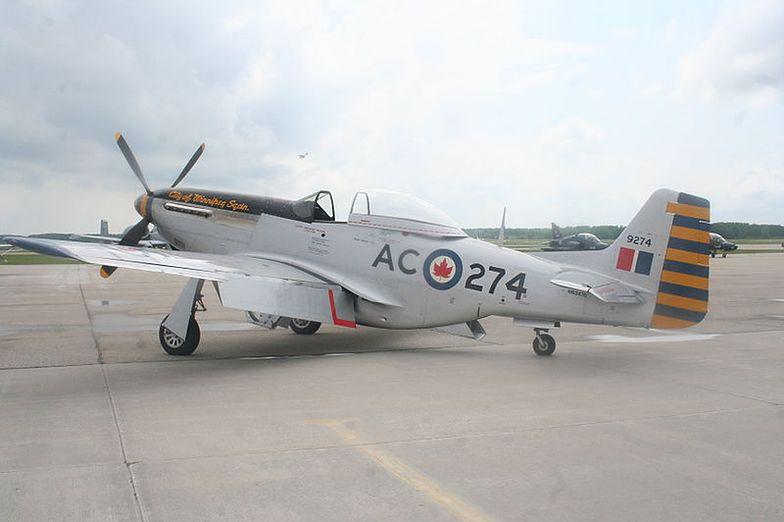 P-51 Mustang. To właśnie tego typu samolot rozbił się wczoraj w Teksasie</br>