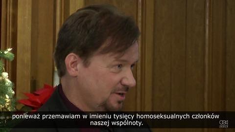 Metodystyczny pastor przeciwko małżeństwom homoseksualnym