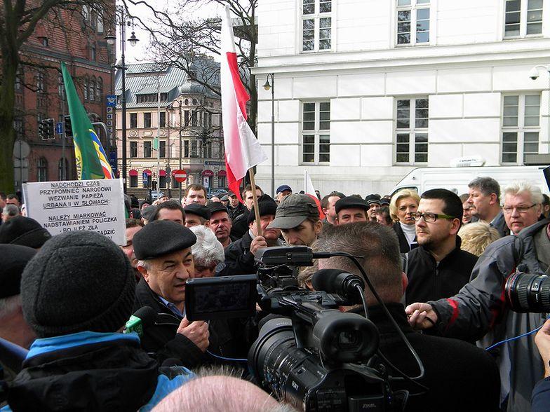 Sytuacja w rolnictwie, a protest w Bydgoszczy