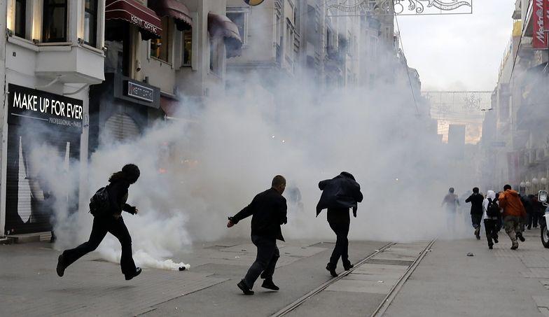 Zamieszki w Turcji. Policja użyła gazu przeciwko demonstrantom
