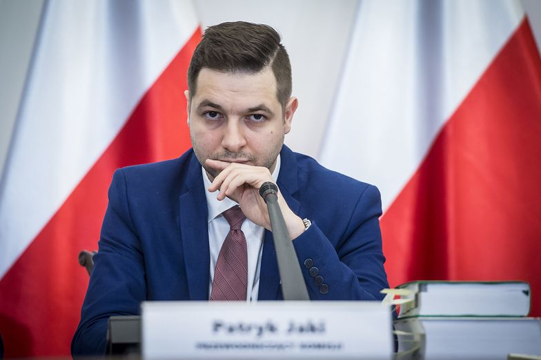Przewodniczący Komisji Weryfikacyjnej Patryk Jaki.