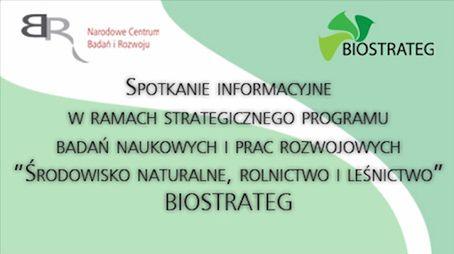 BIOSTRATEG - środowisko naturalne, rolnictwo i leśnictwo