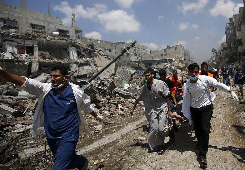 Wojna w Strefie Gazy. Zgineło już 631 Palestyńczyków i 27 Izraelczyków